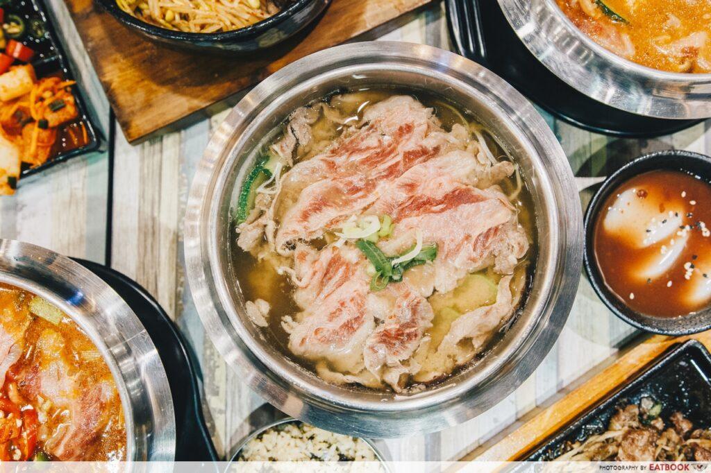 Seoul Garden Hotpot Doen Jang Guk