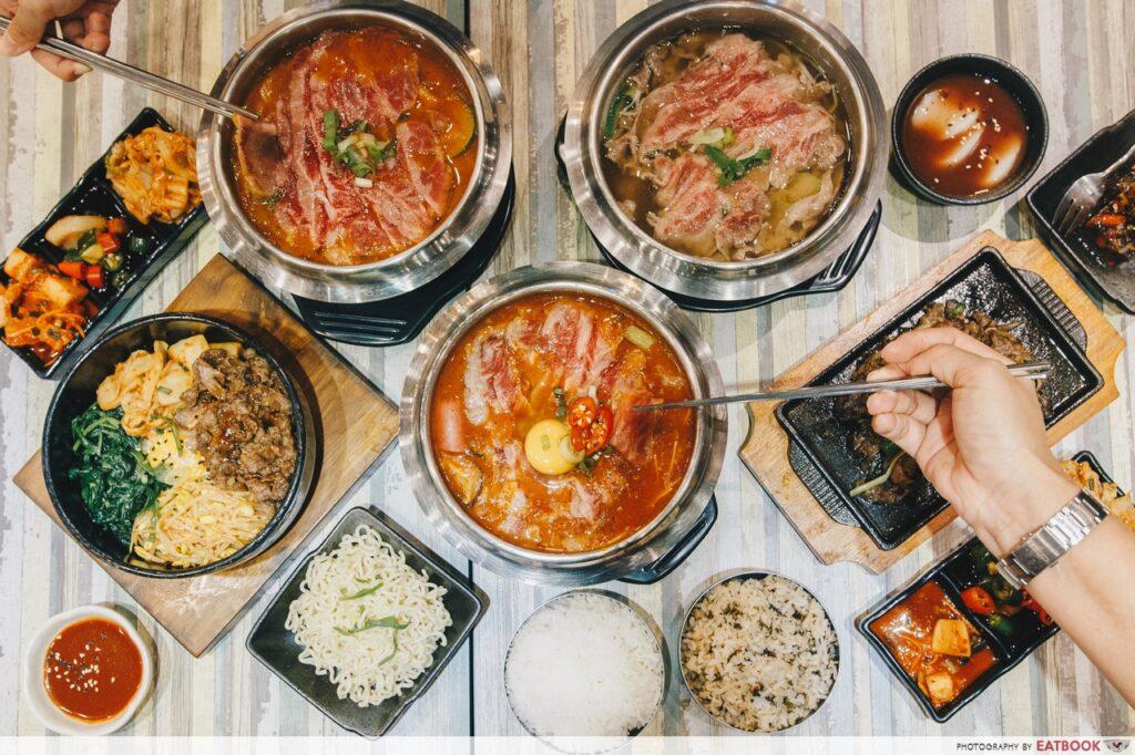 Seoul Garden Hotpot Wagyu beef promotion december
