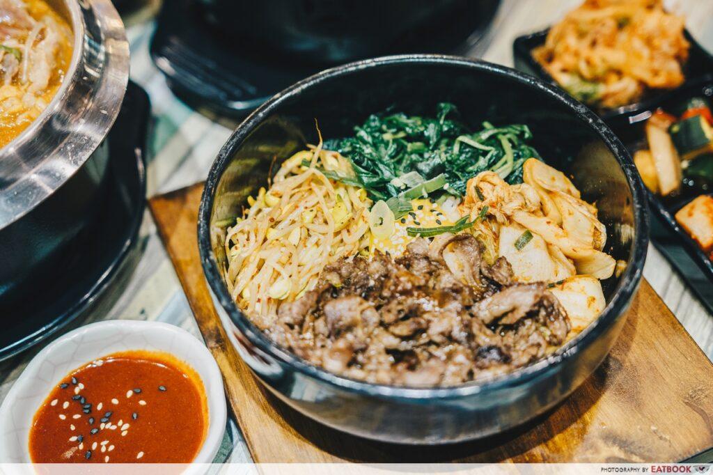 Seoul Garden hotpot bibimbap