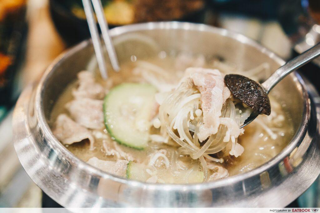 Seoul Garden hotpot soups