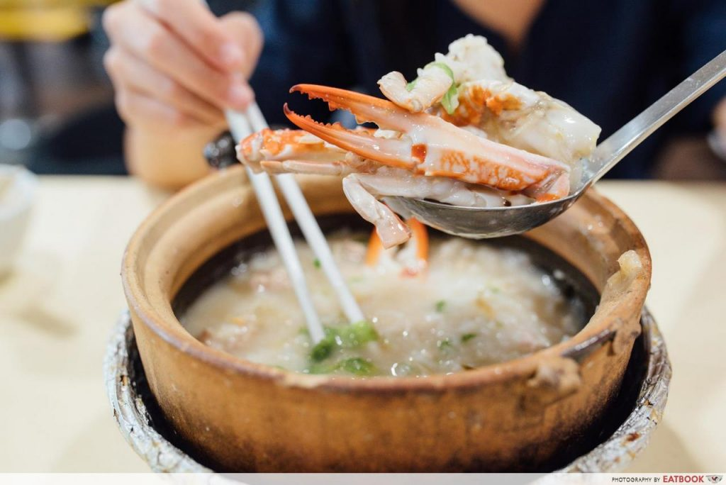 Swatow Is Here Flower Crab Porridge (2)