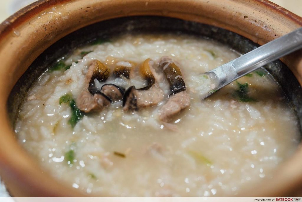 Swatow Is Here Yellow Eel Porridge