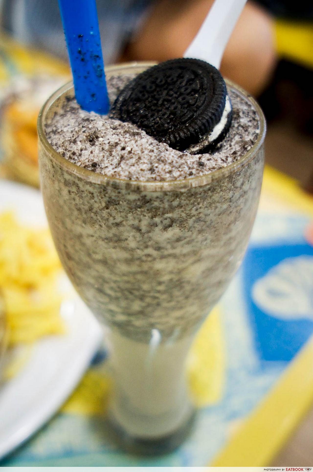 Nadim's delights - oreo milkshake