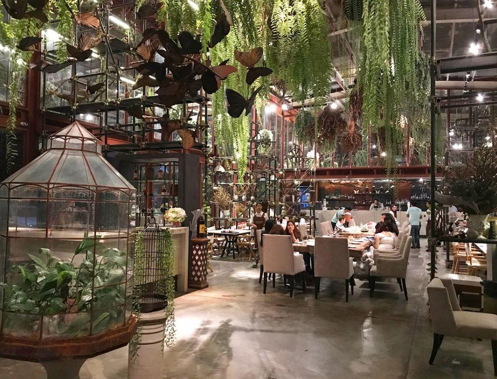 bangkok restaurants Vivarium 1