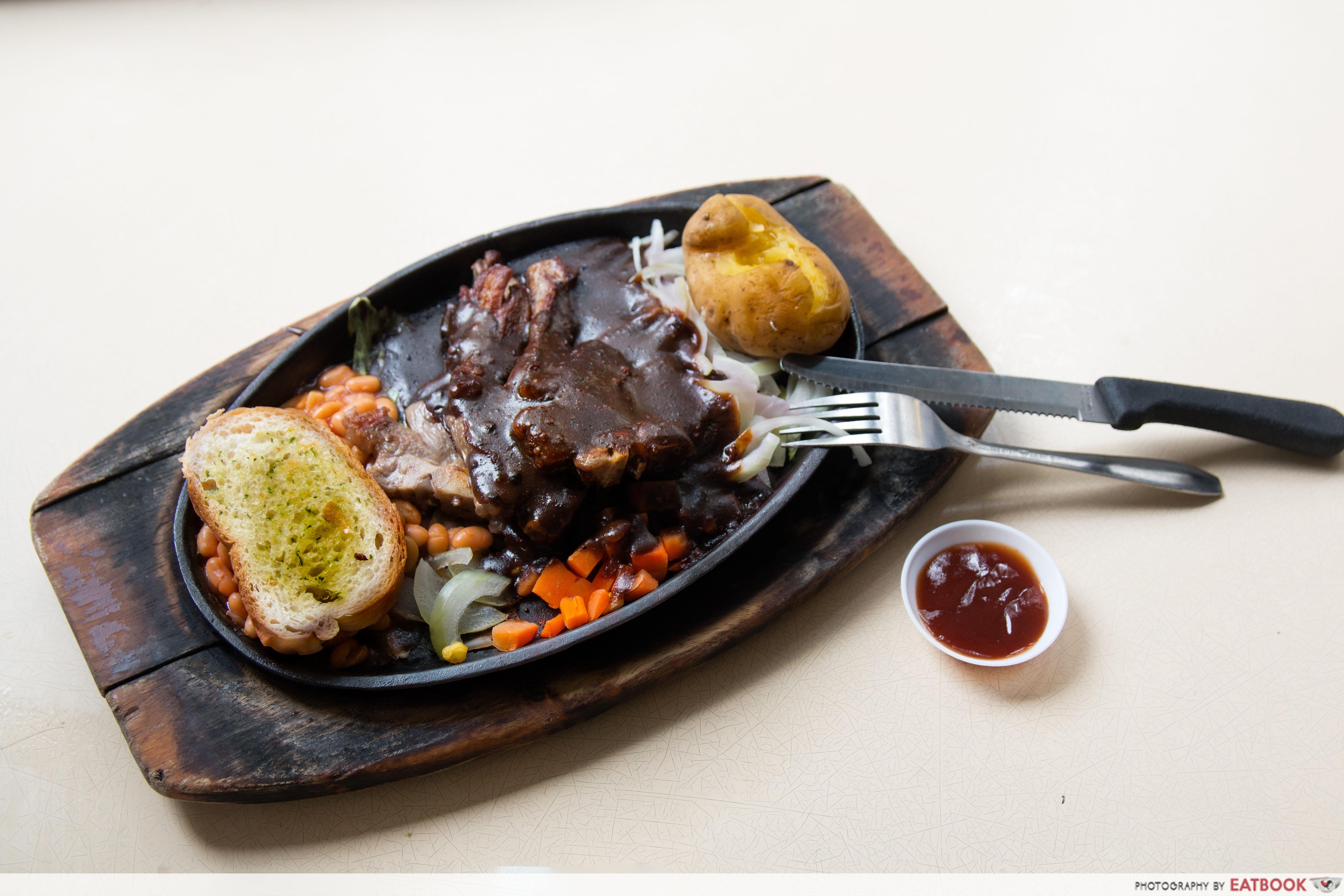 5 Star Corner - Black Pepper Steak