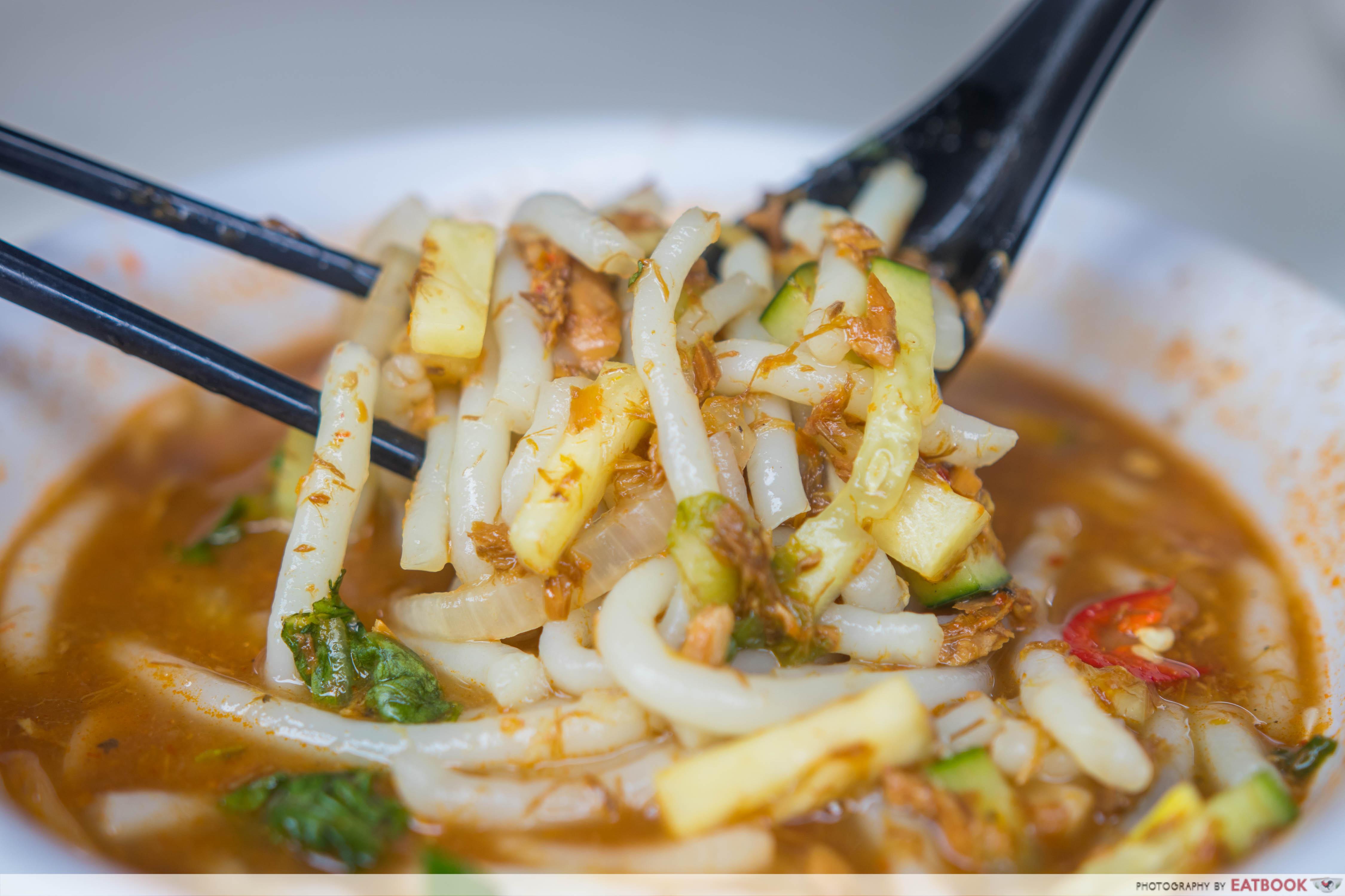 Ah Lipp Prawn Mee - Chopped Laksa
