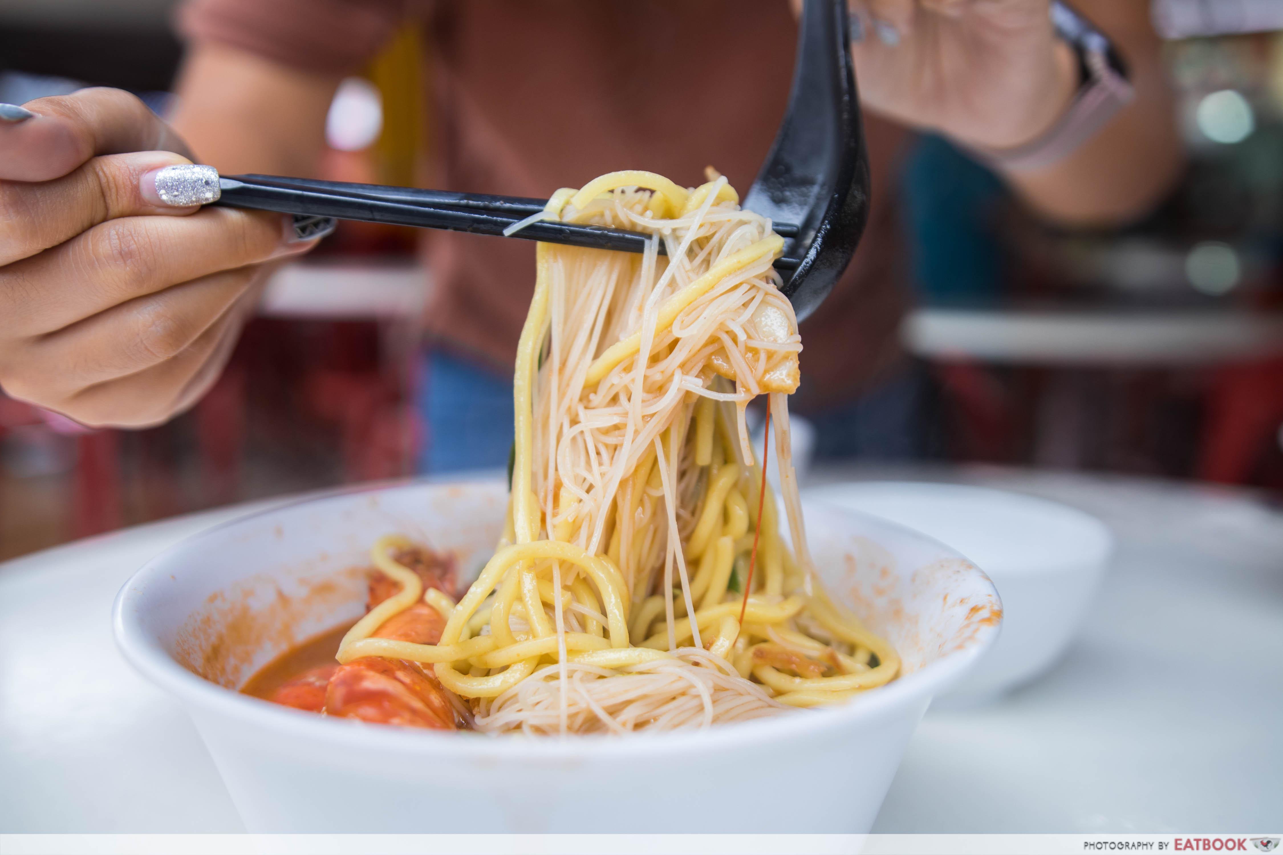 Ah Lipp Prawn Mee - Noodles
