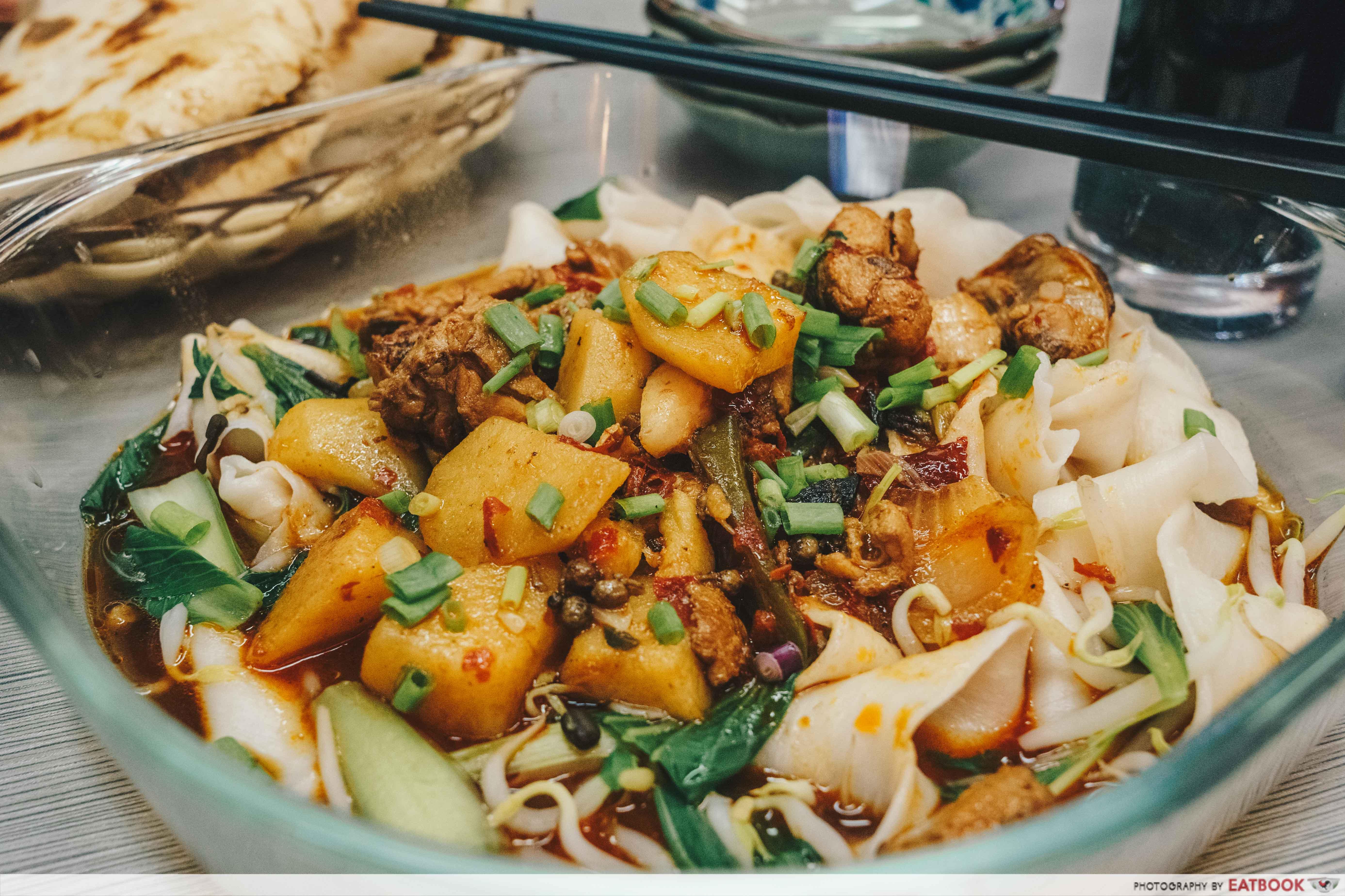 Biang Biang Noodles- Chicken Ban Mian