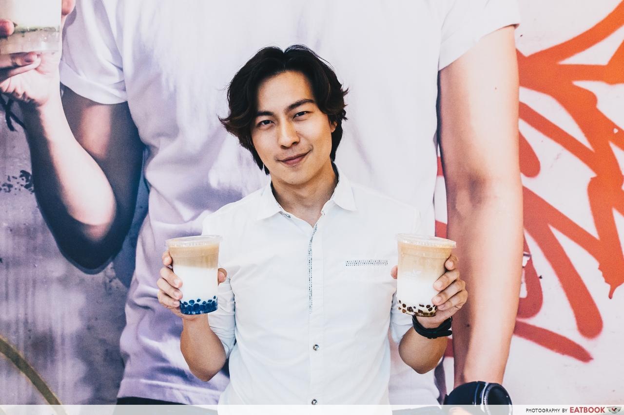 Bobii Frutii - Nat Ho Holding Drinks