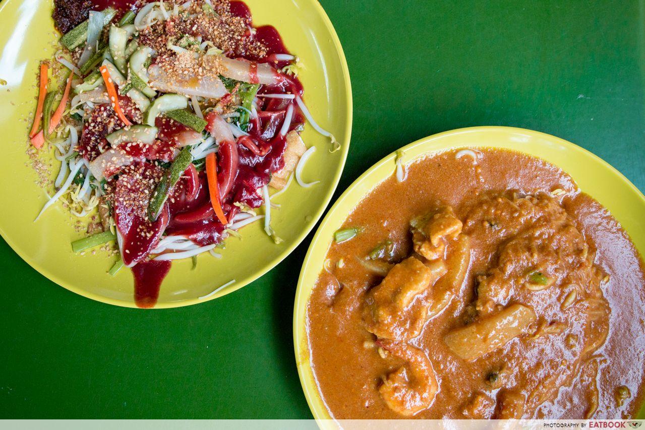 Bukit Timah Food Centre - Sin Chew Satay Bee Hoon