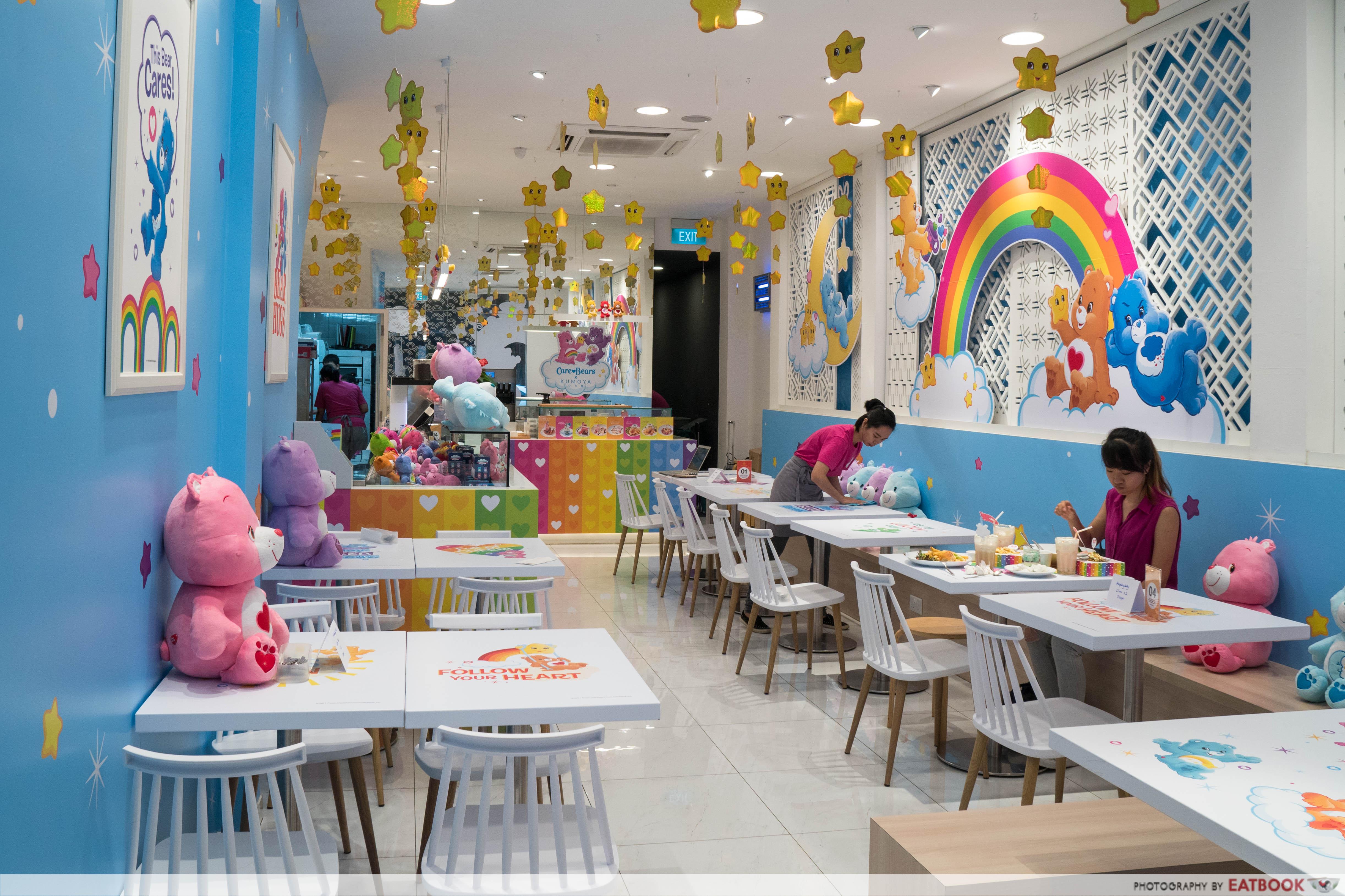 Care Bears Cafe - ambience
