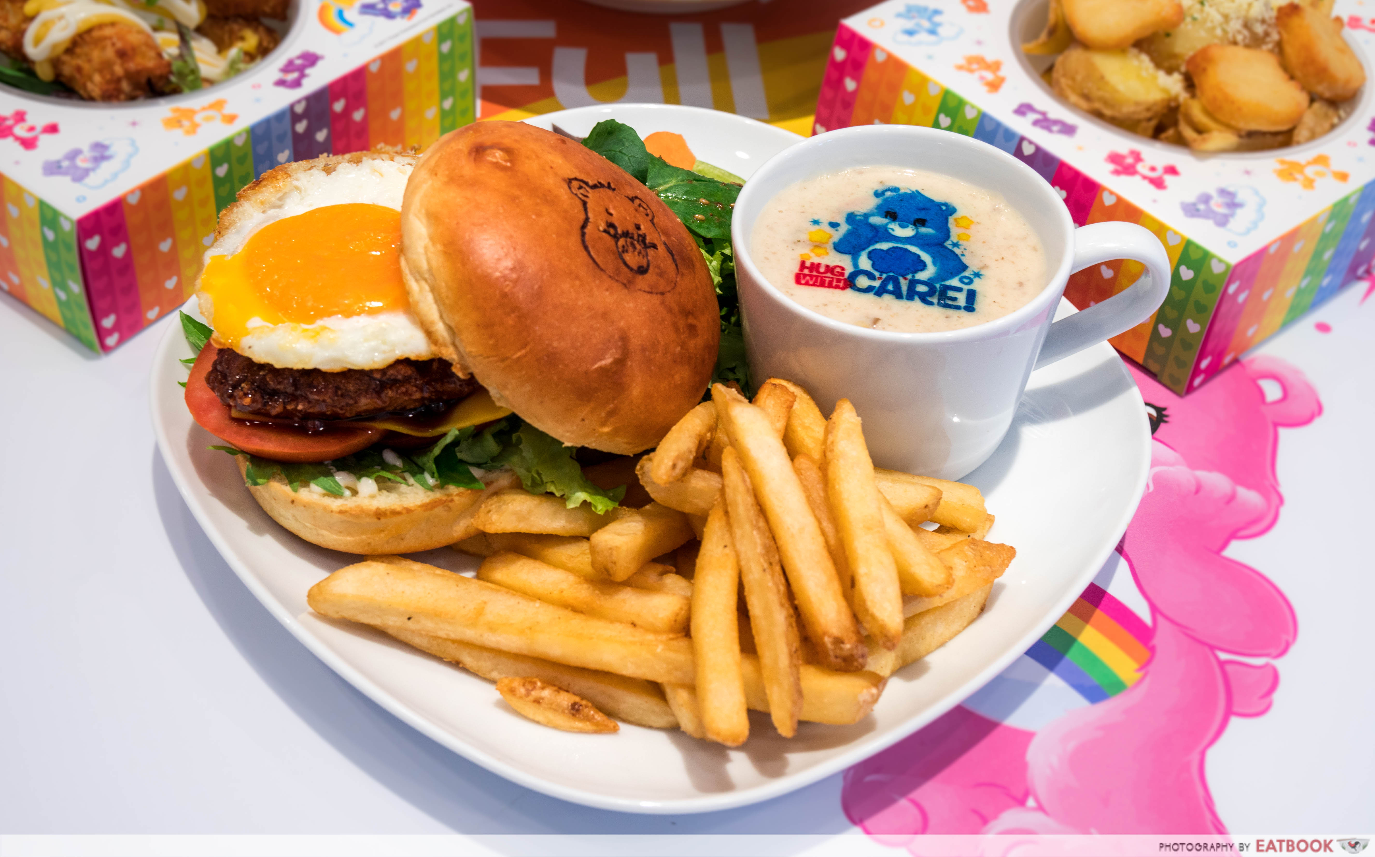 Care Bears Cafe - chicken burger