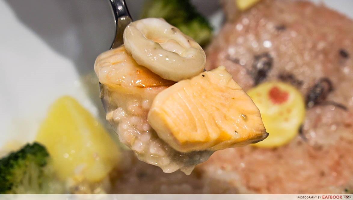Care Bears Cafe - chowder seafood