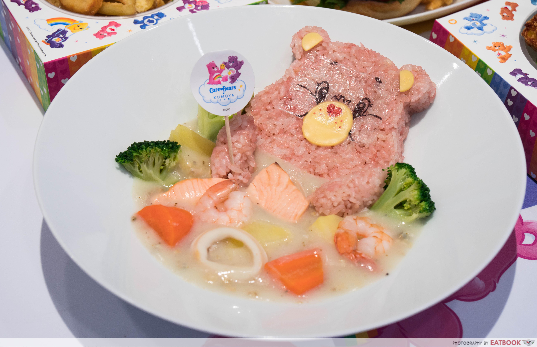 Care Bears Cafe - seafood chowder