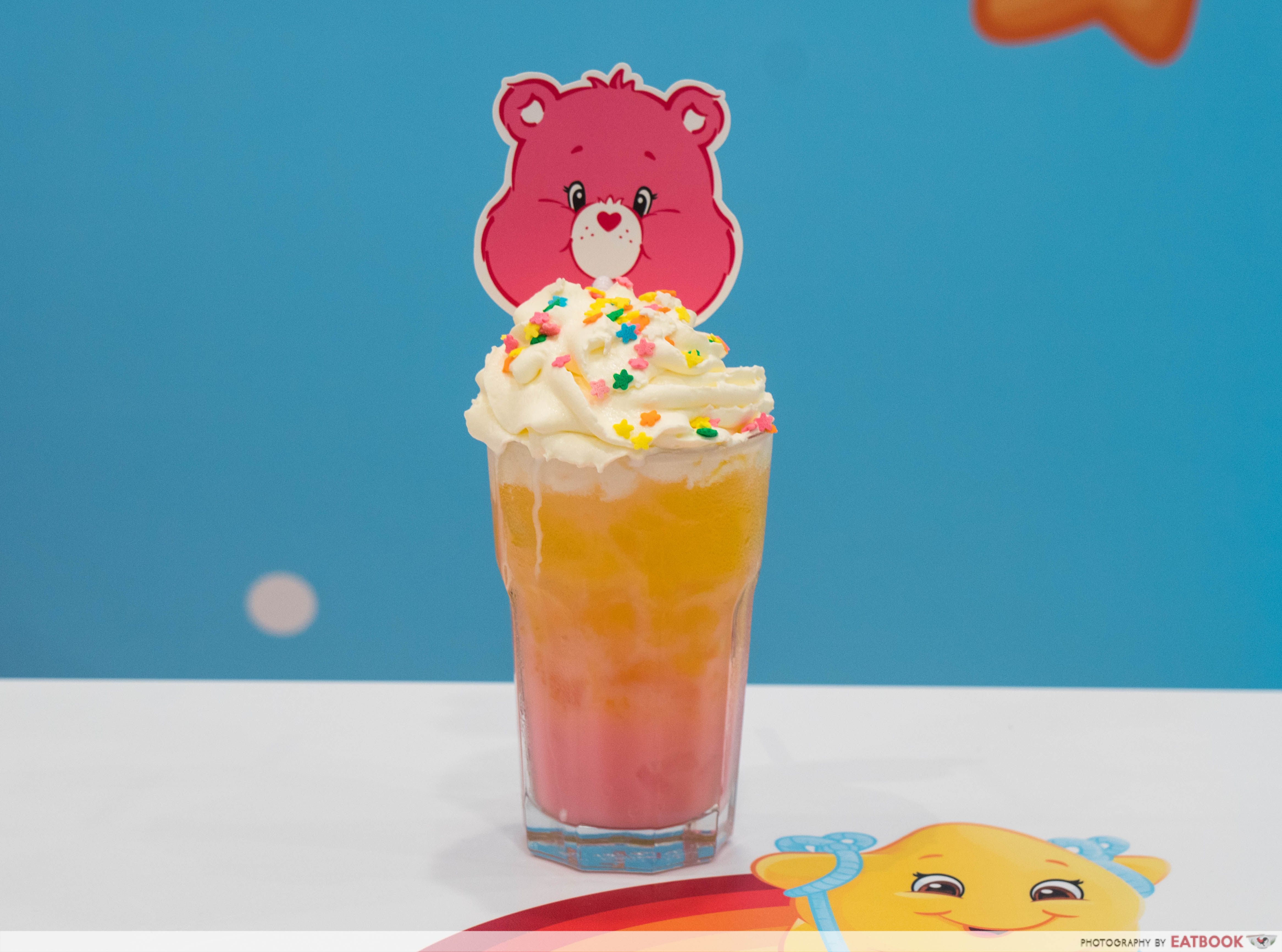 Care Bears Cafe - yellow drink