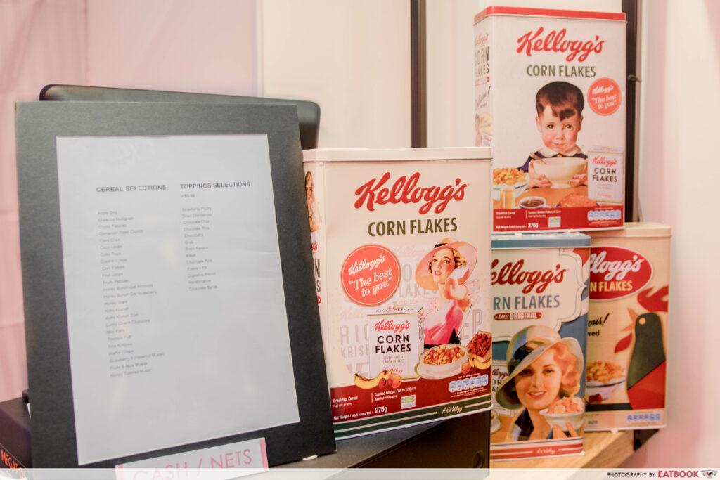 Cereal Citizen- menu