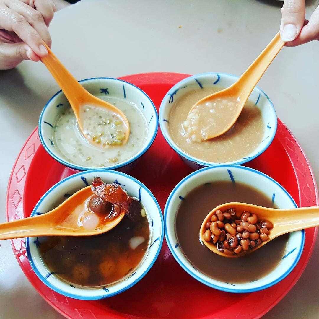 traditional Chinese dessert - Xi Le Ting-min