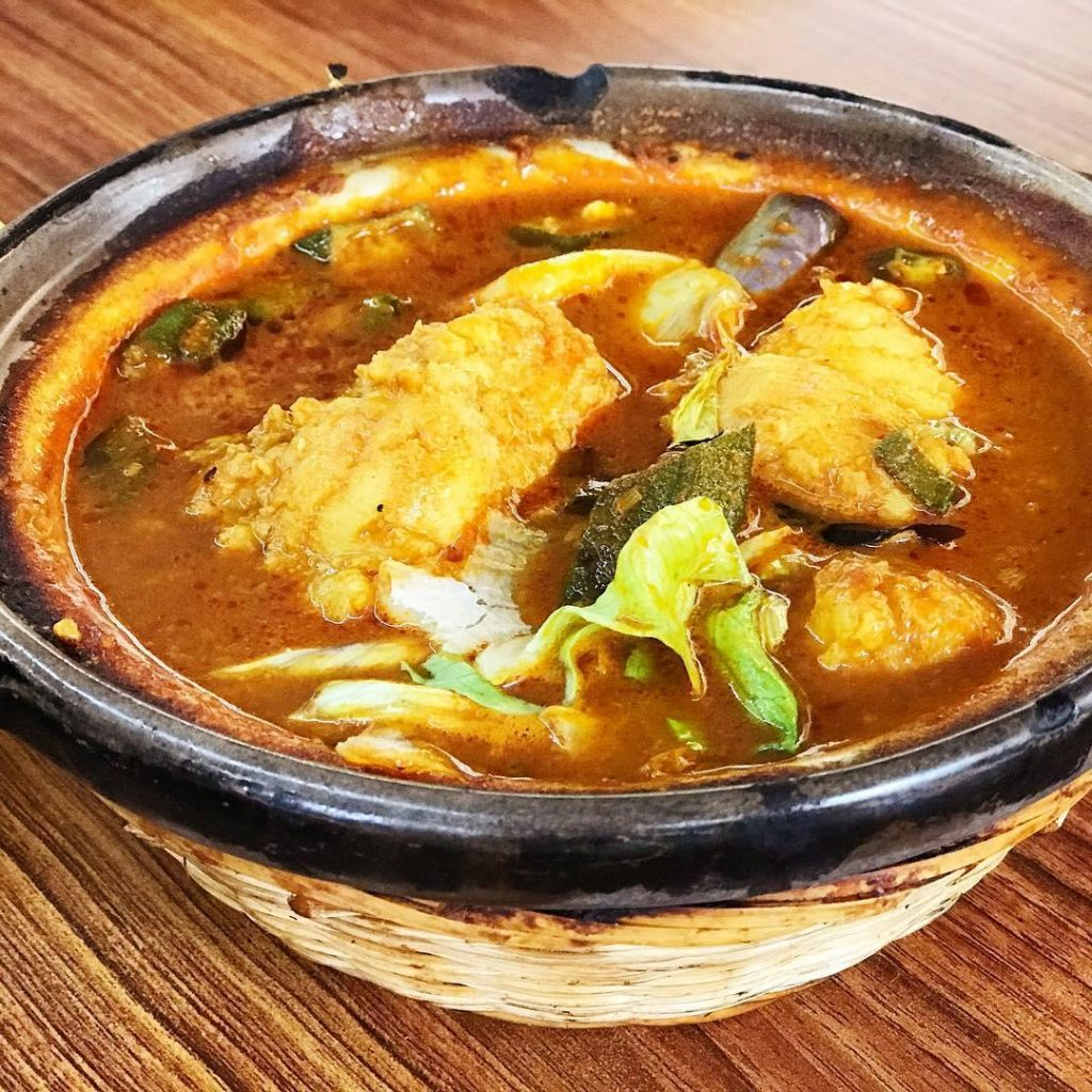 Claypot dishes - Assam fish