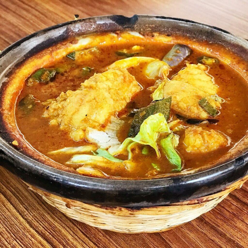 Claypot dishes - Assam fish