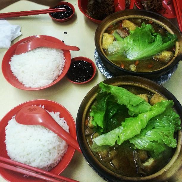 Claypot dishes - BKT