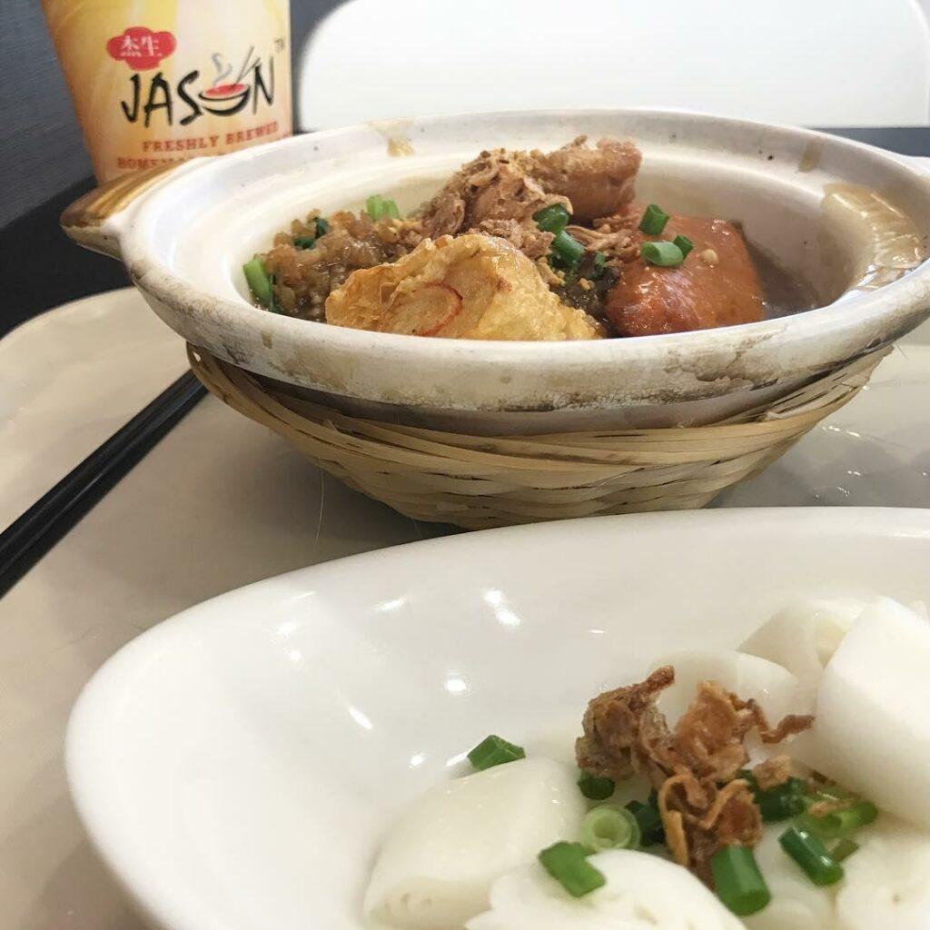 Claypot dishes - Niang Dou Fu