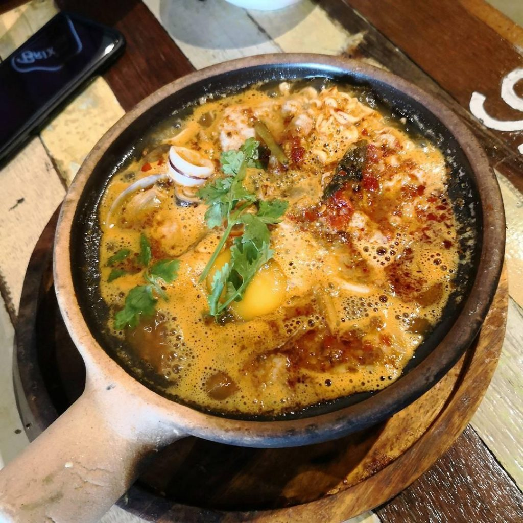 Claypot dishes - Tom Yum