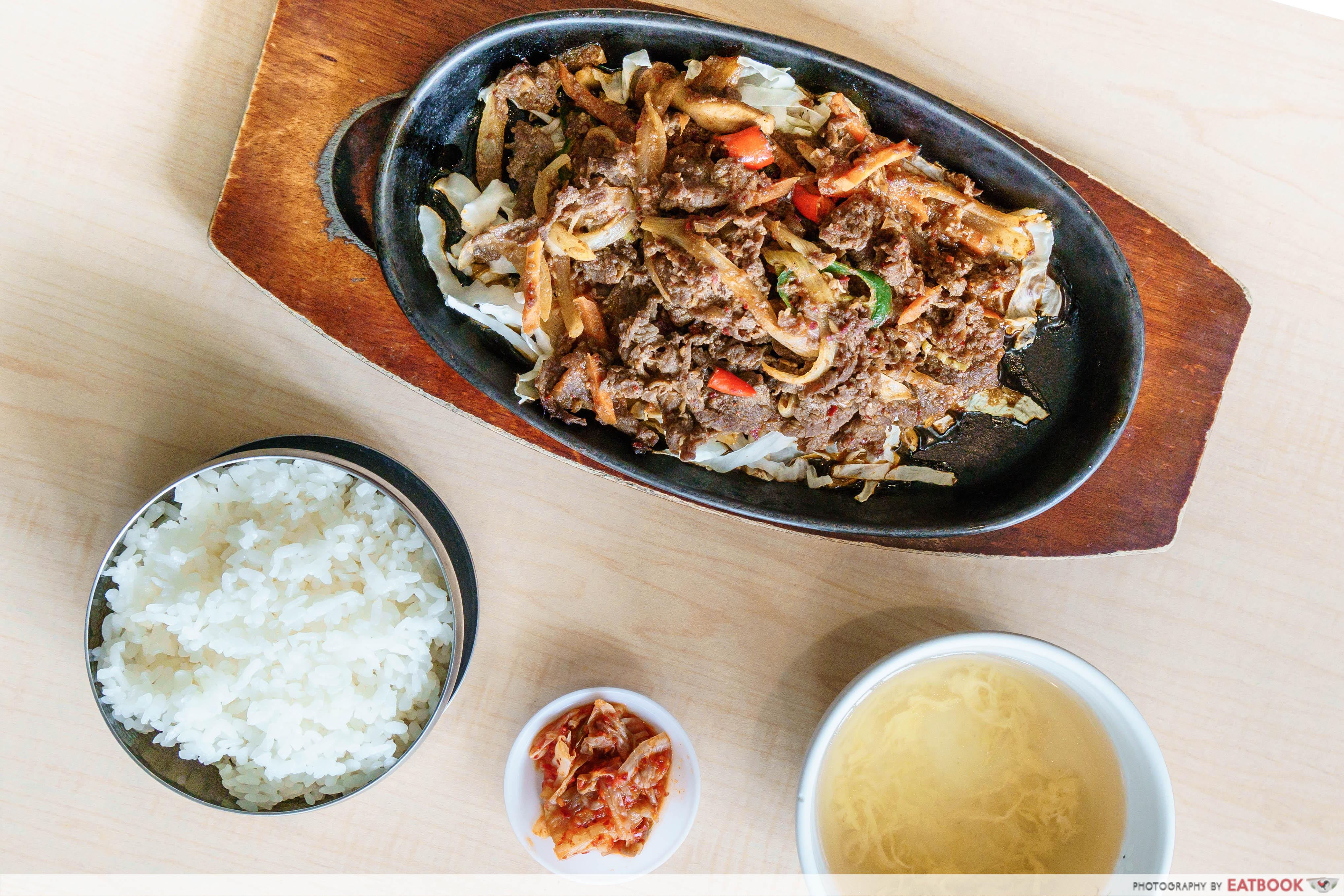 Daebak Korean Restaurant-Beef Hot Plate