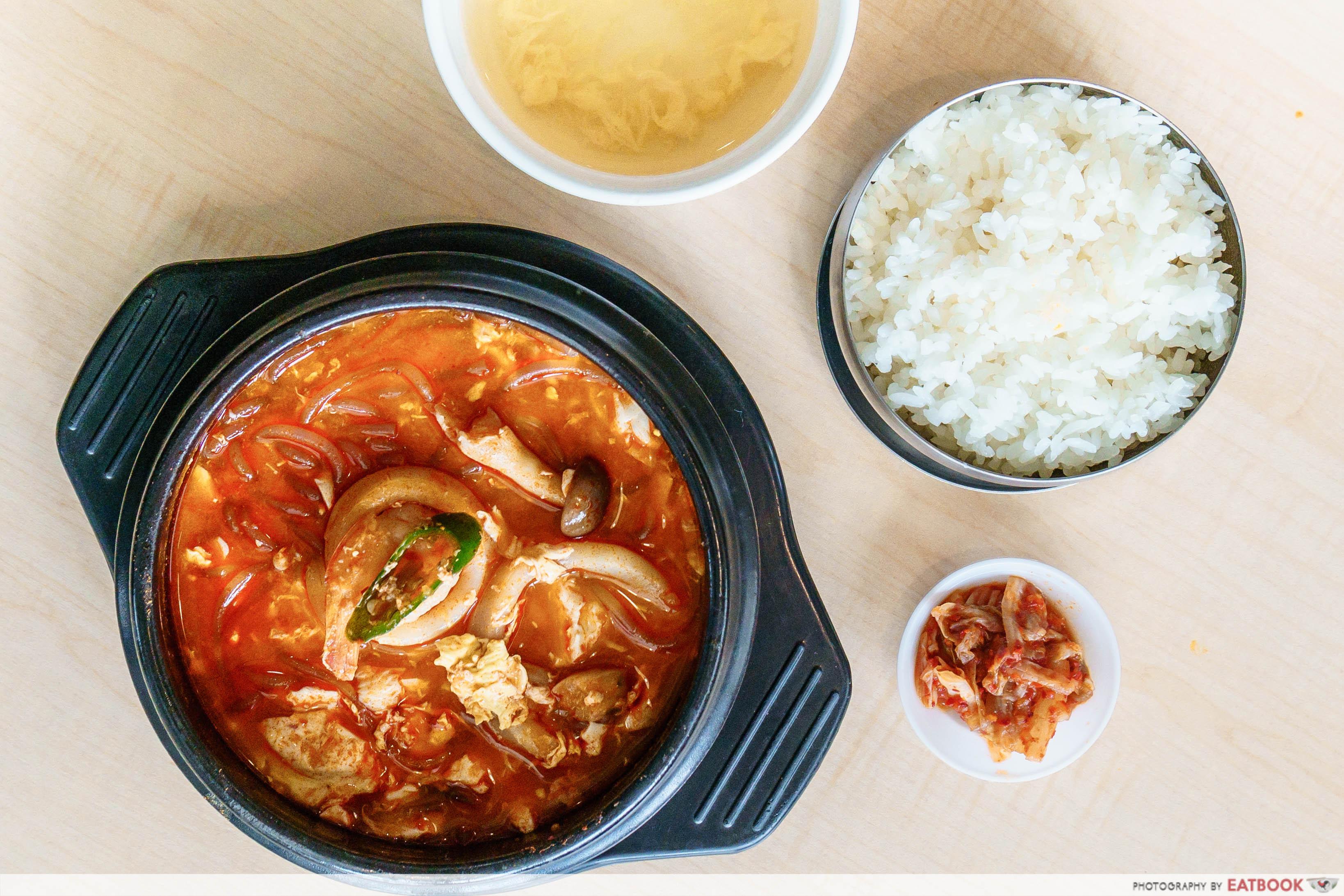 Daebak Korean Restaurant-Spicy Tofu Soup