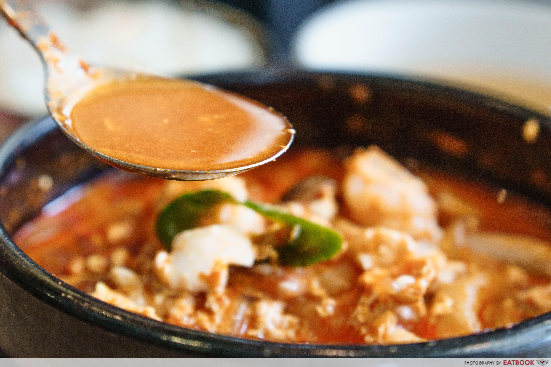 Daebak Korean Restaurant-tofu soup