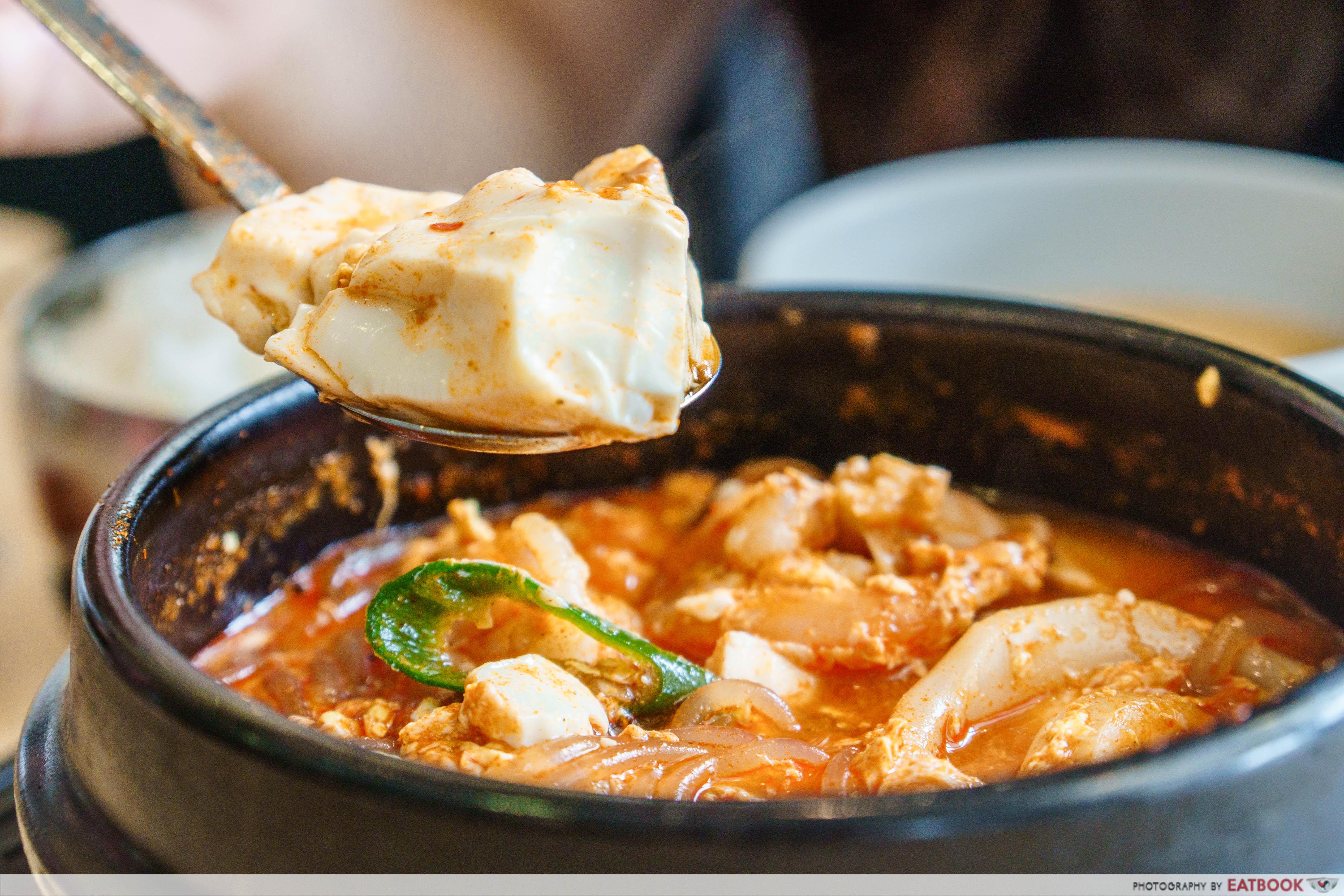 Daebak Korean Restaurant-tofu
