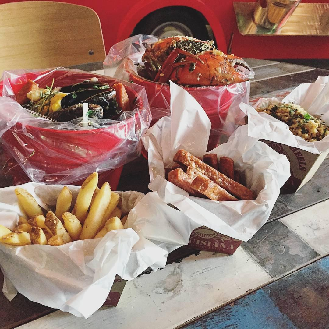 Halal Seafood Bucket - Cajun On Wheels