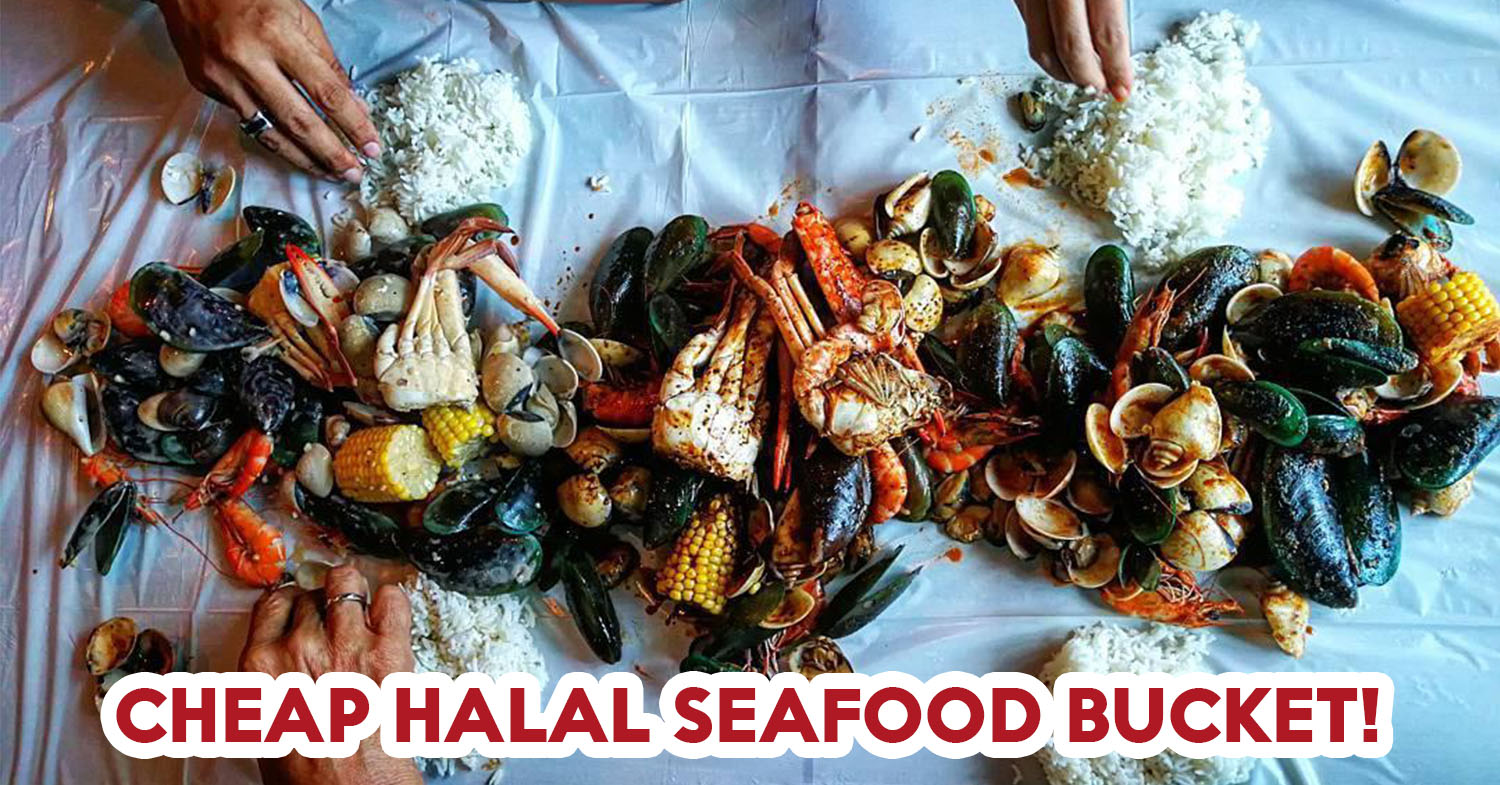 7 Halal Seafood Bucket Places From $17 Nett Onwards To Feast At With