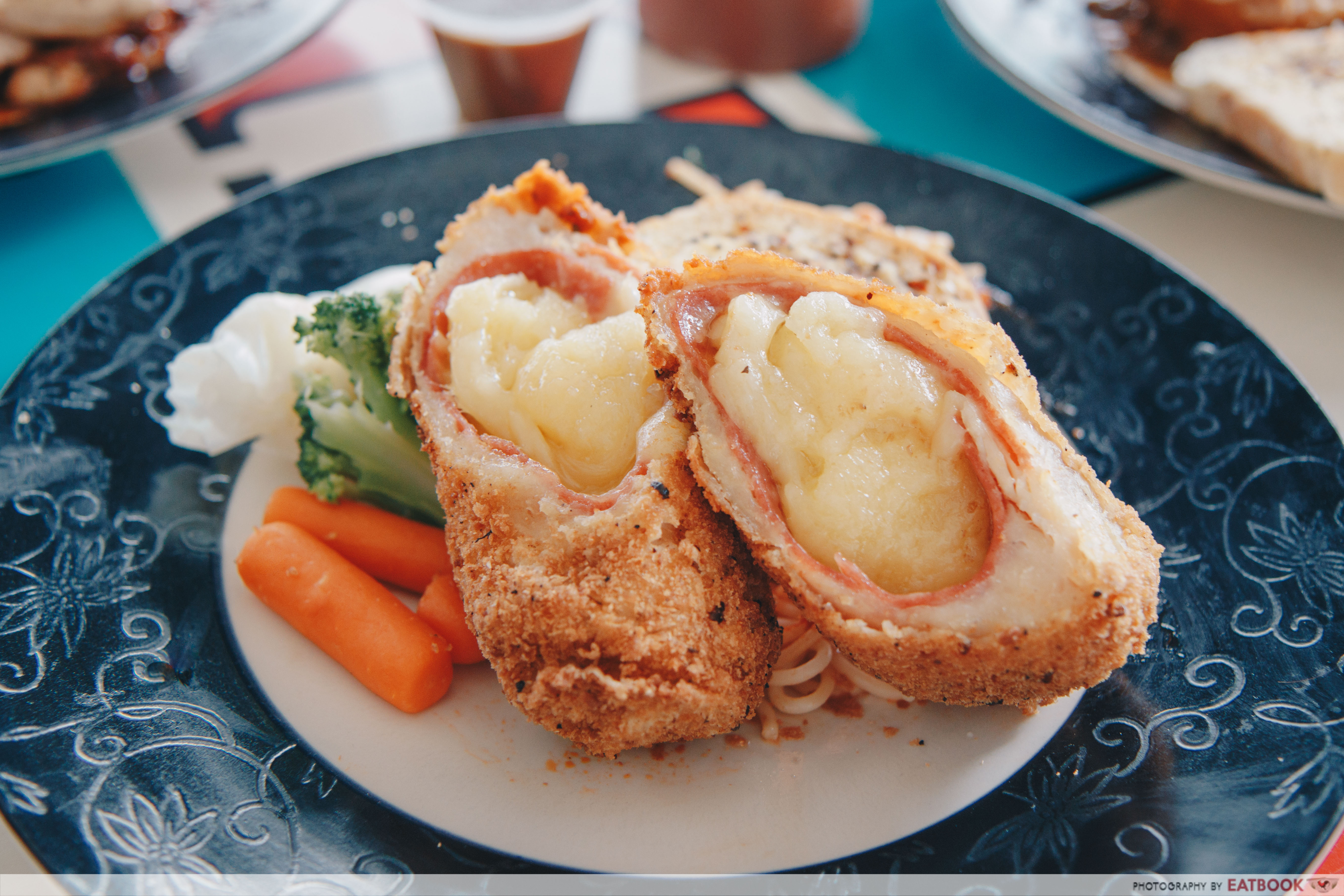 Happy Chef Western Foods- chicken cordon bleu