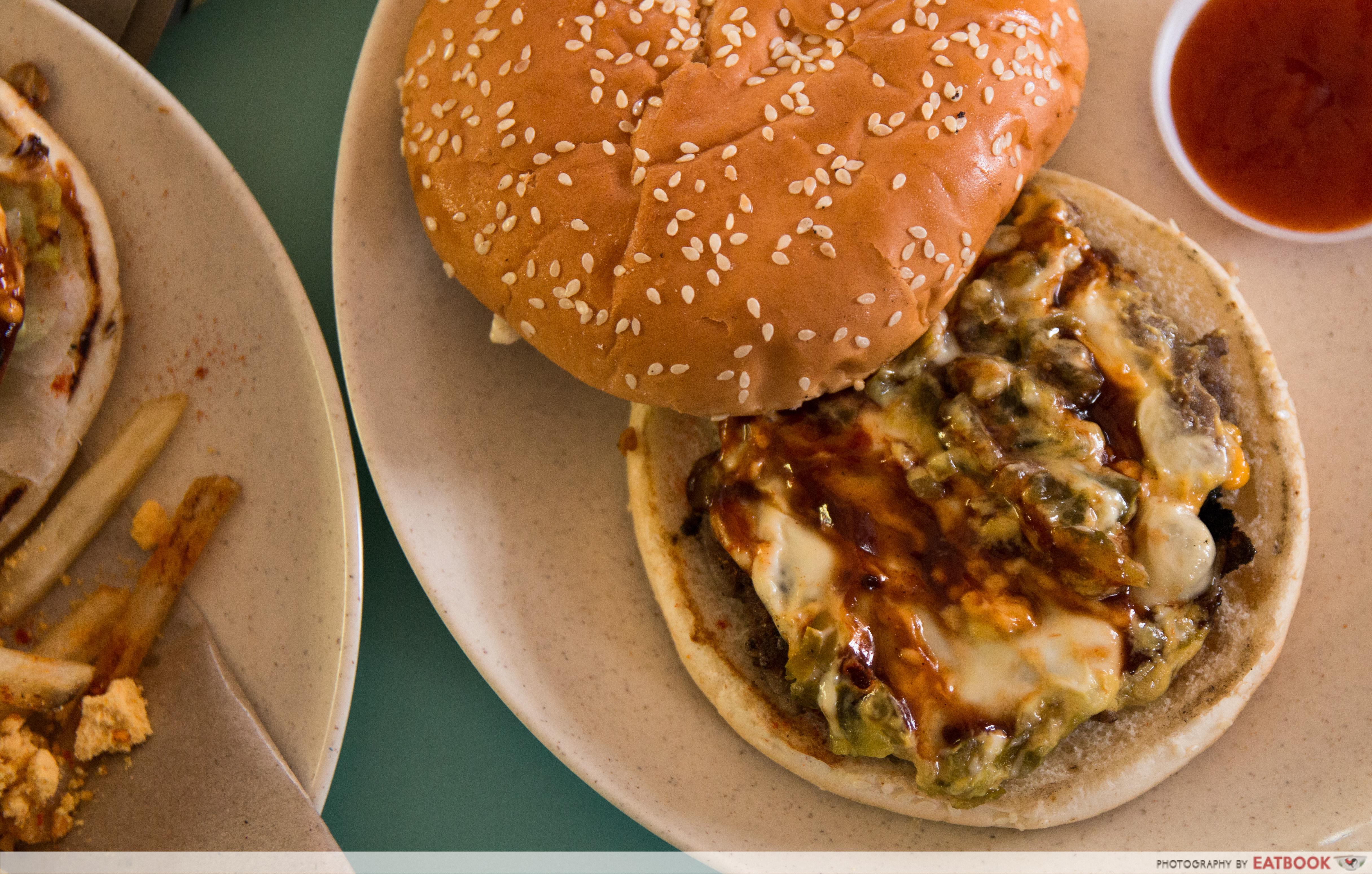 I Love Burger Lah! - Classic Beef Cheeseburger