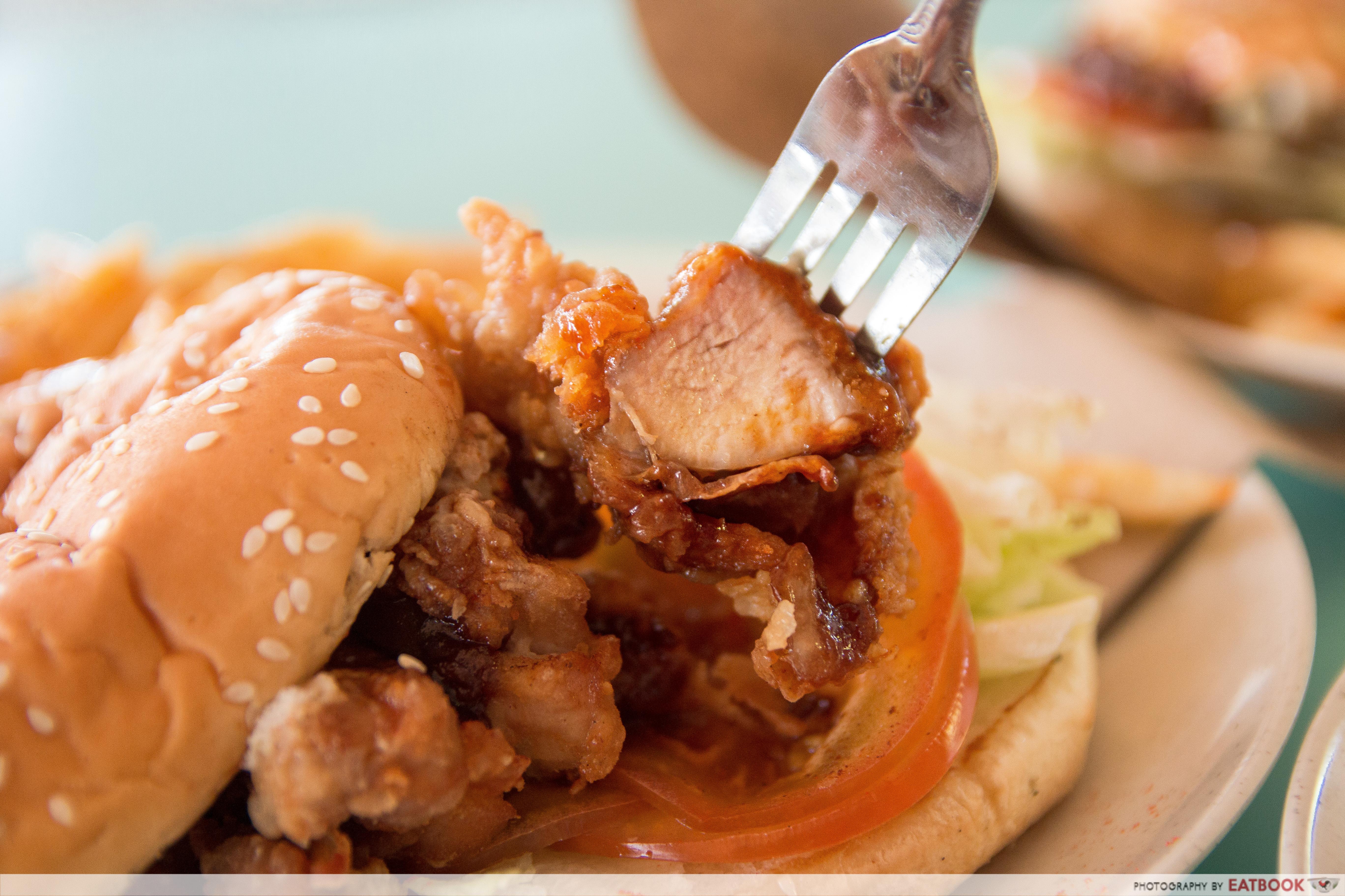 I Love Burger Lah! Har Cheong Gai Chicken