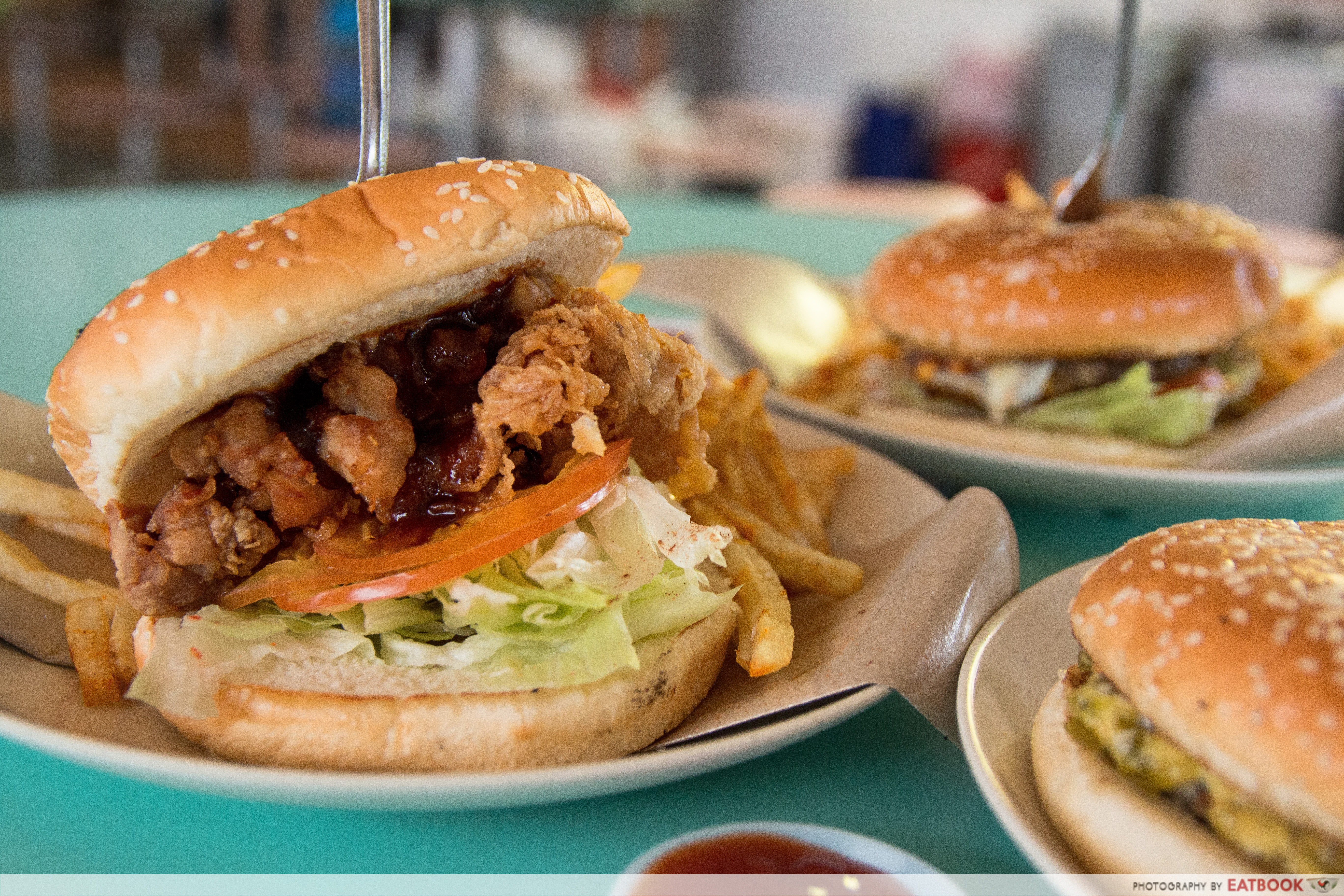 I Love Burger Lah! - Har Geong Gai Burger