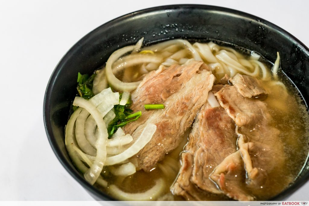 J&J Special Beef Noodle - Wagyu Beef Noodle