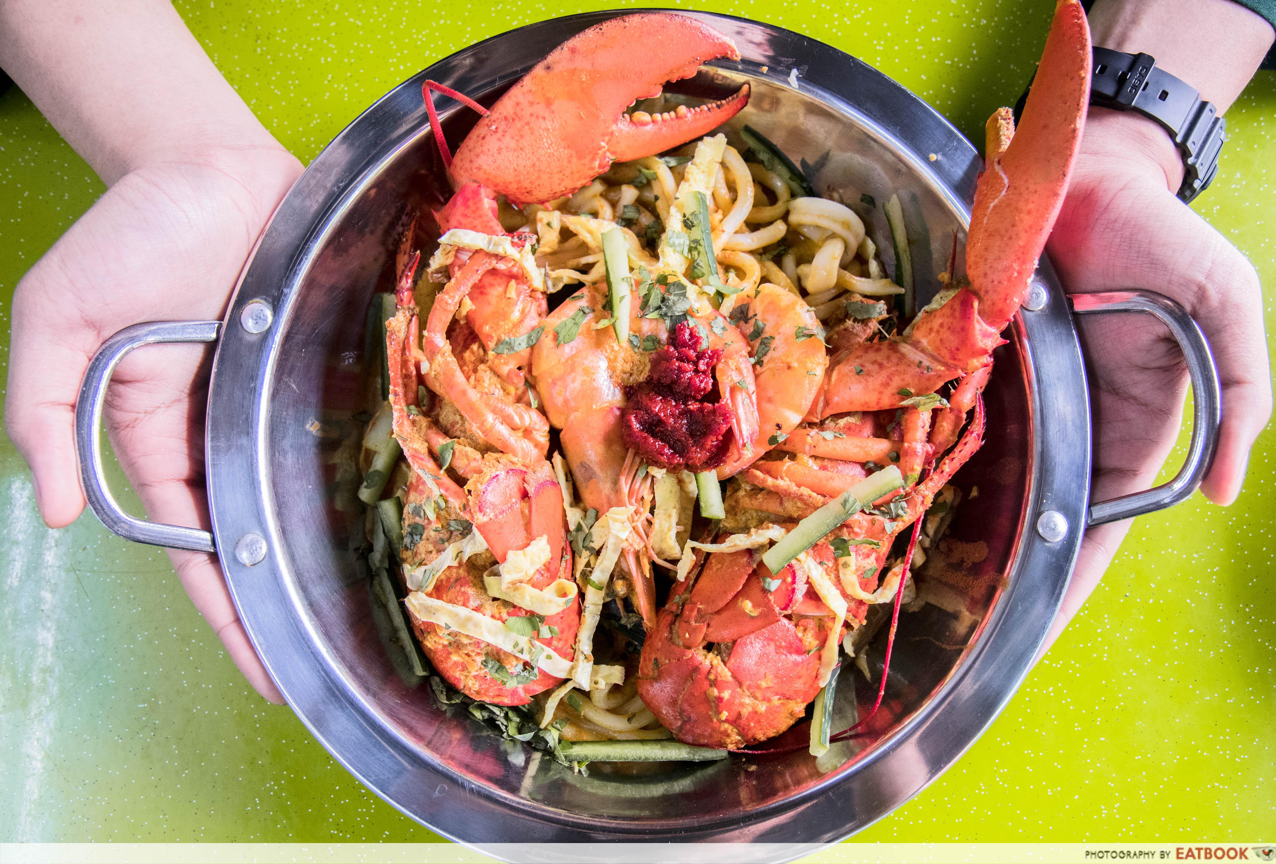 lobster laksa - Lakster