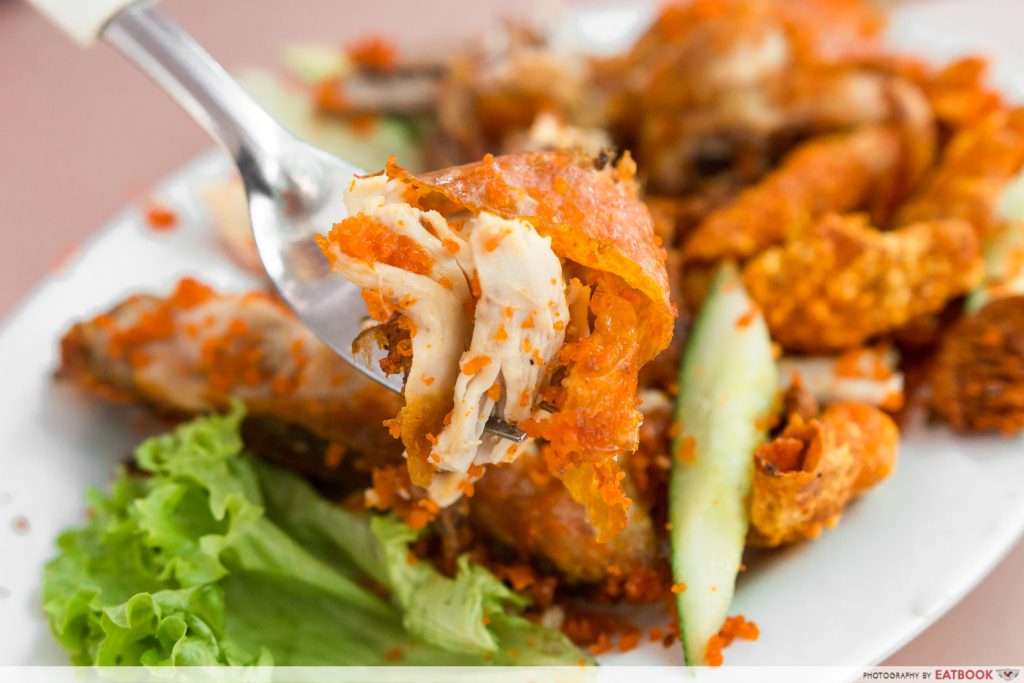 Mat Noh & Rose - Chicken Closeup