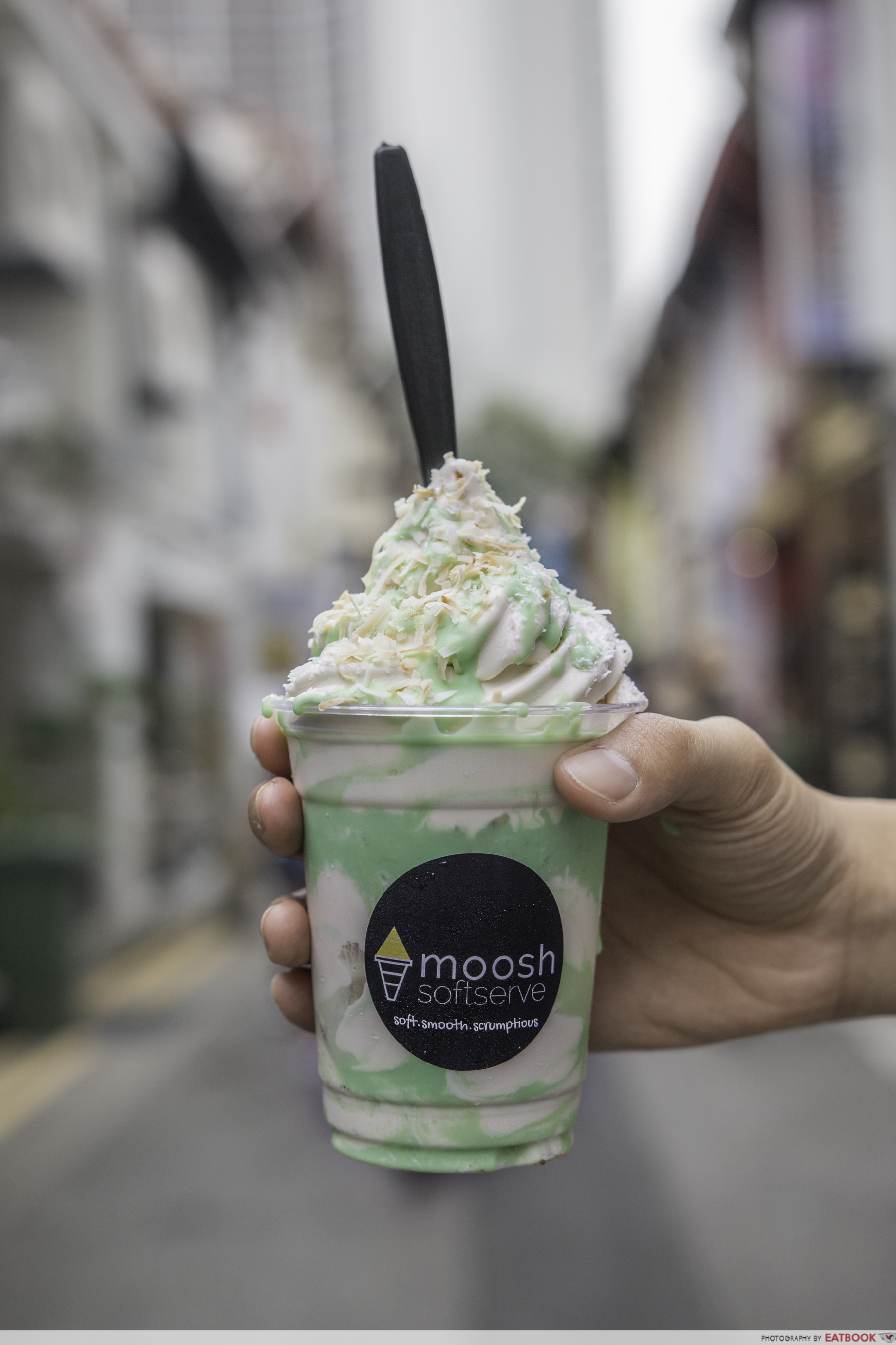 Moosh - Ondeh-Ondeh Soft Serve