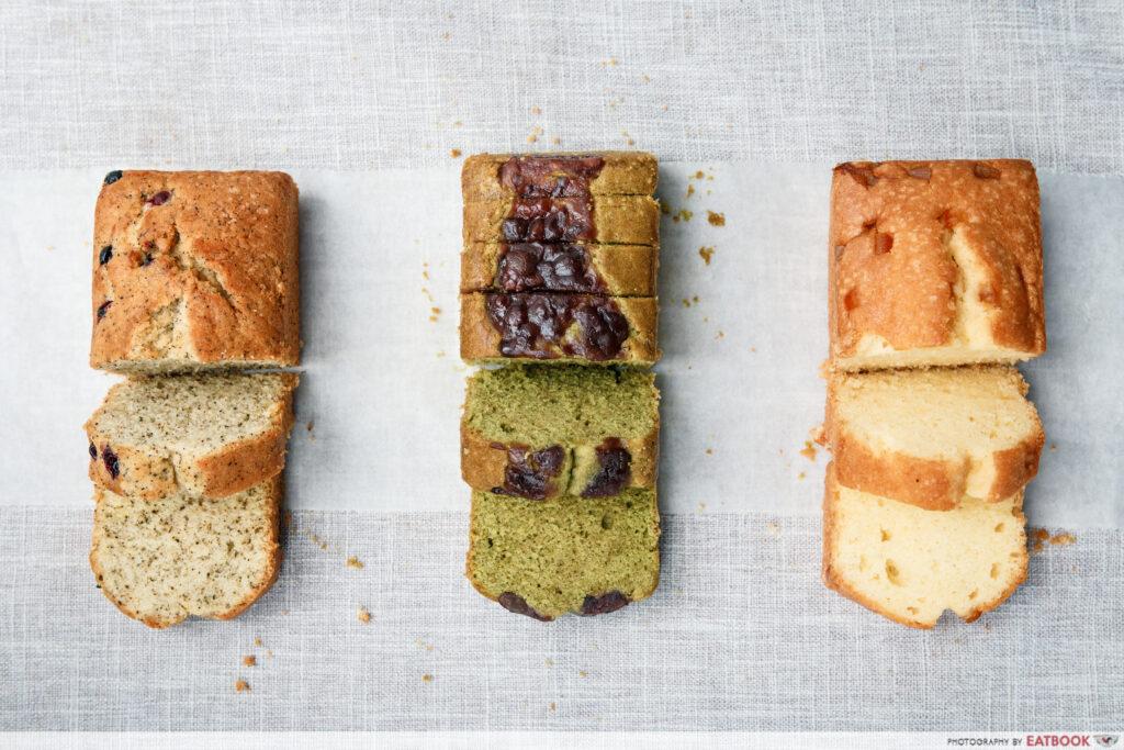 Nicher Pound Cakes - Flatlay