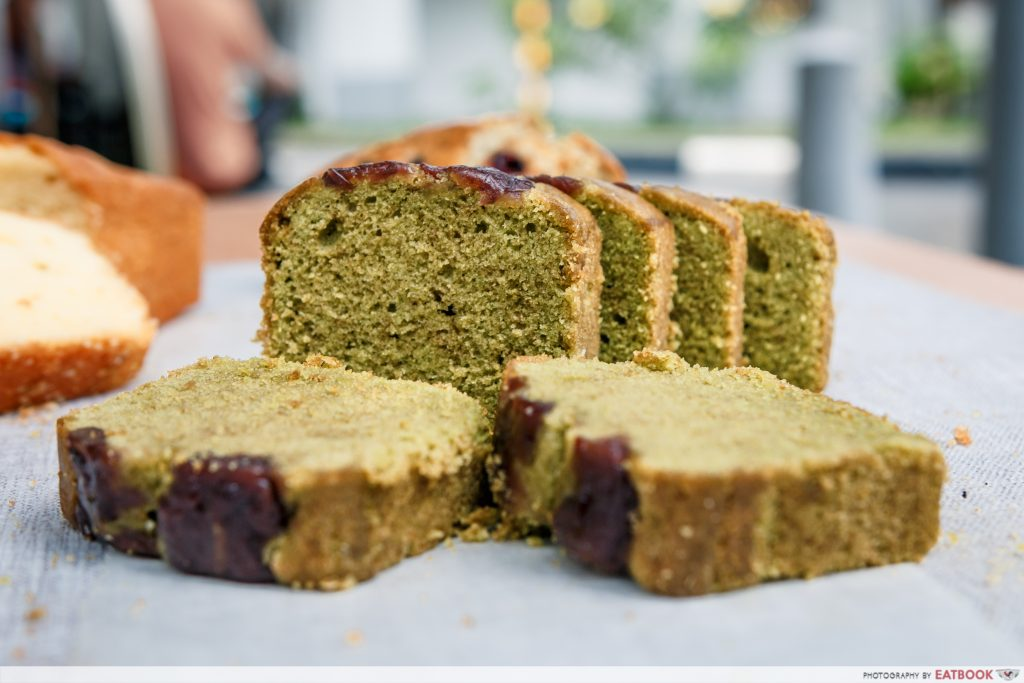 Nicher Pound Cakes - Matcha