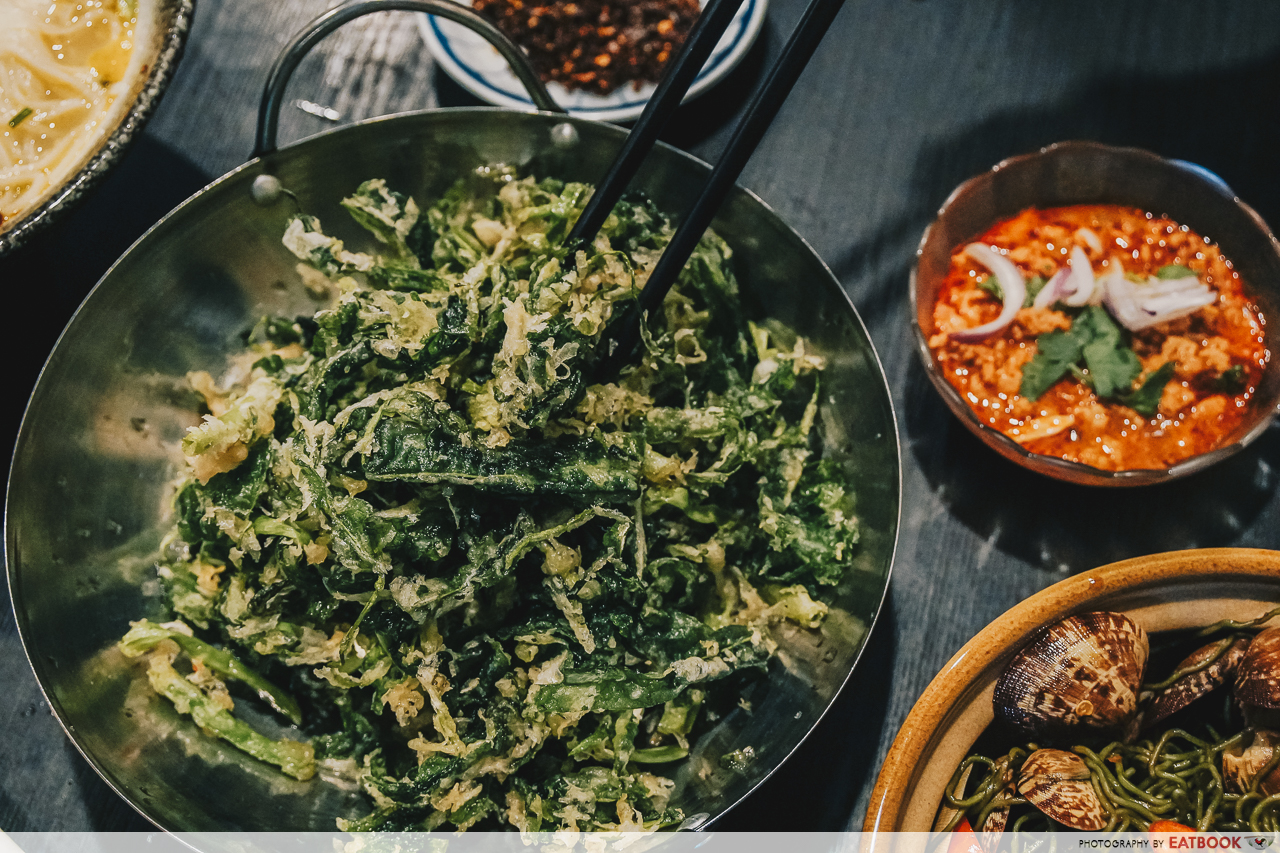 Noodle Thai Thai Kitchen - Crispy Kangkong