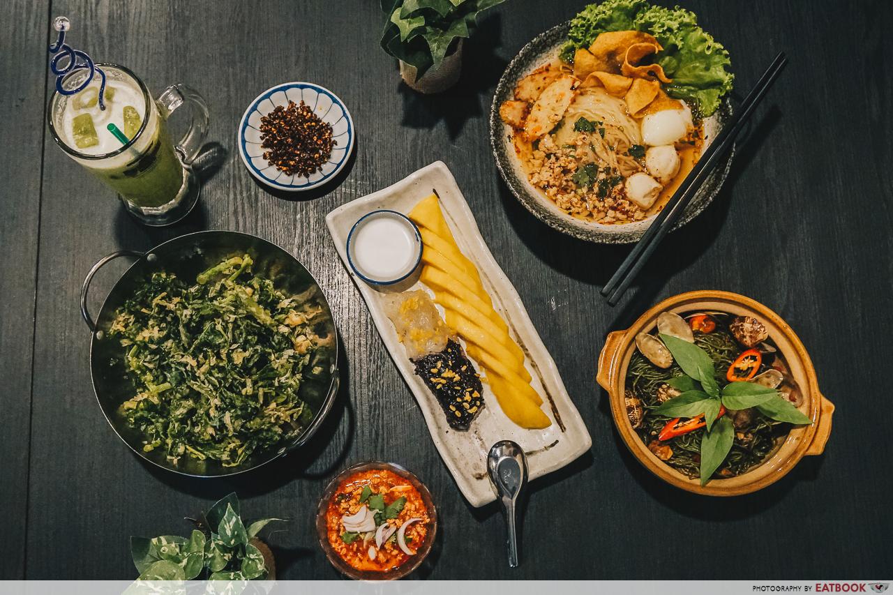 Noodle Thai Thai Kitchen - Flatlay