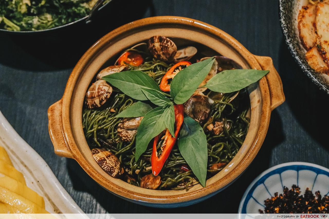 Noodle Thai Thai Kitchen - La-La Basil Jade Noodles