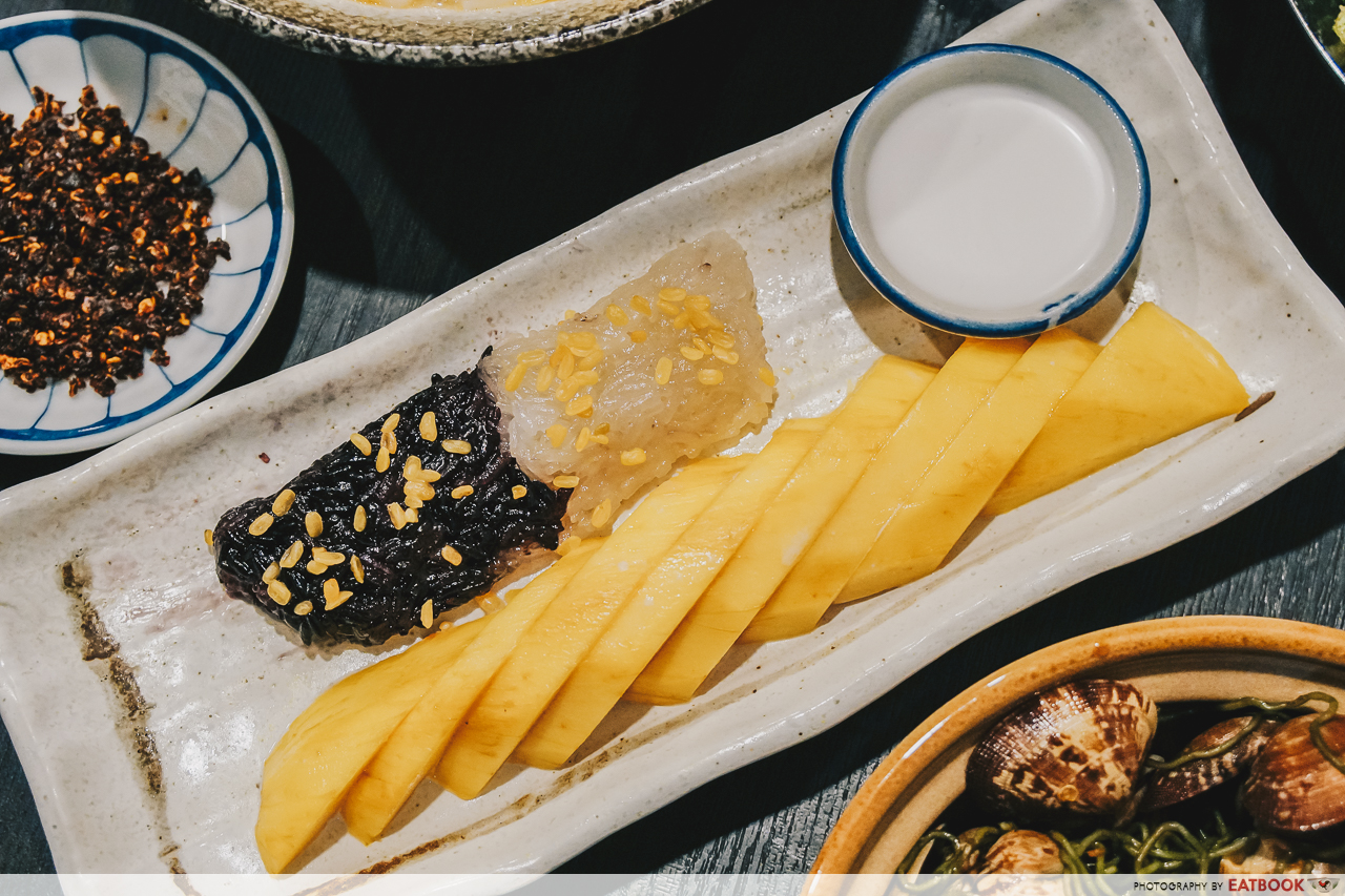 Noodle Thai Thai Kitchen - Mango Sticky Rice