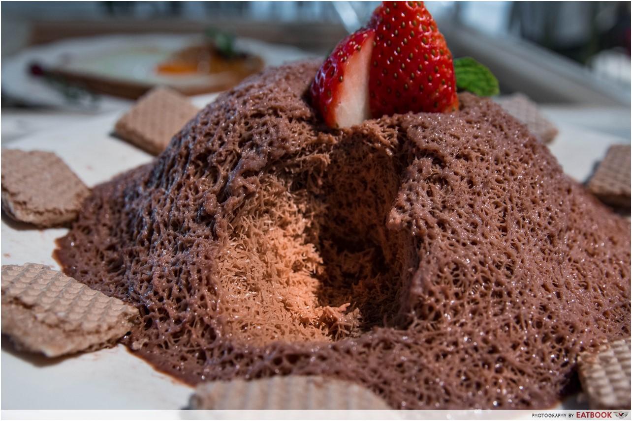 Pluseighttwo - chocolate bingsu