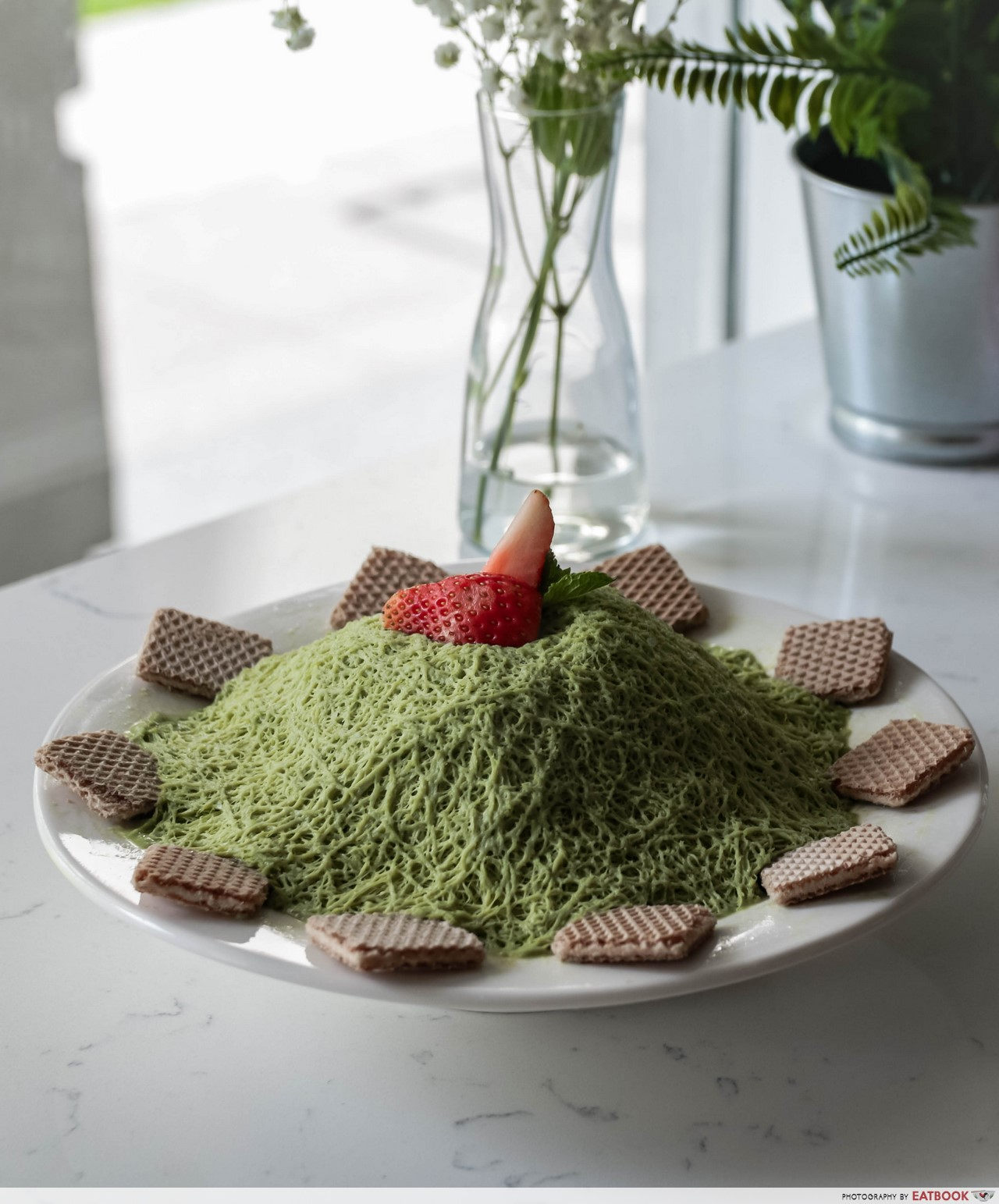 Romantic Cafes - Matcha Siltarae