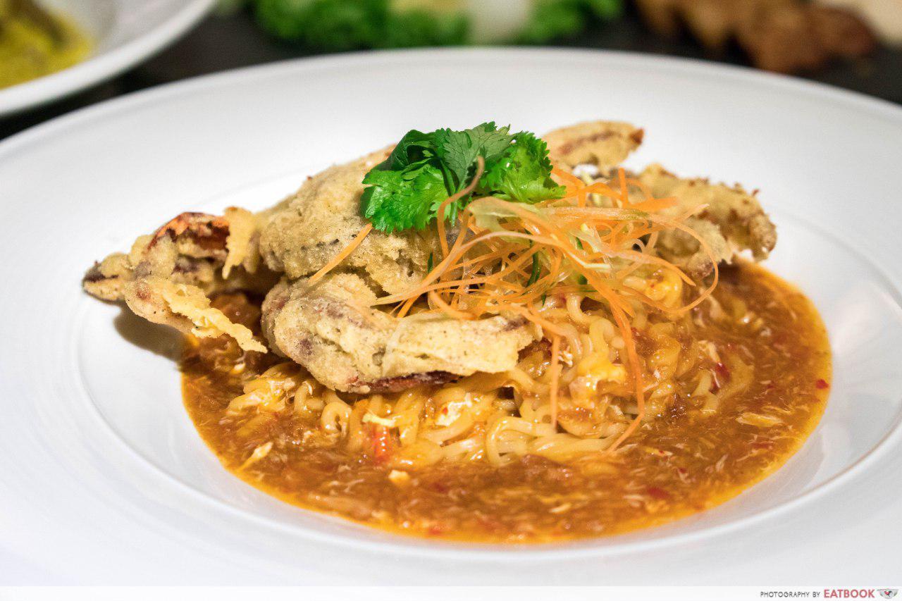 Rumah Rasa - Crispy Soft Shell Crab in Chilli Crab Sauce