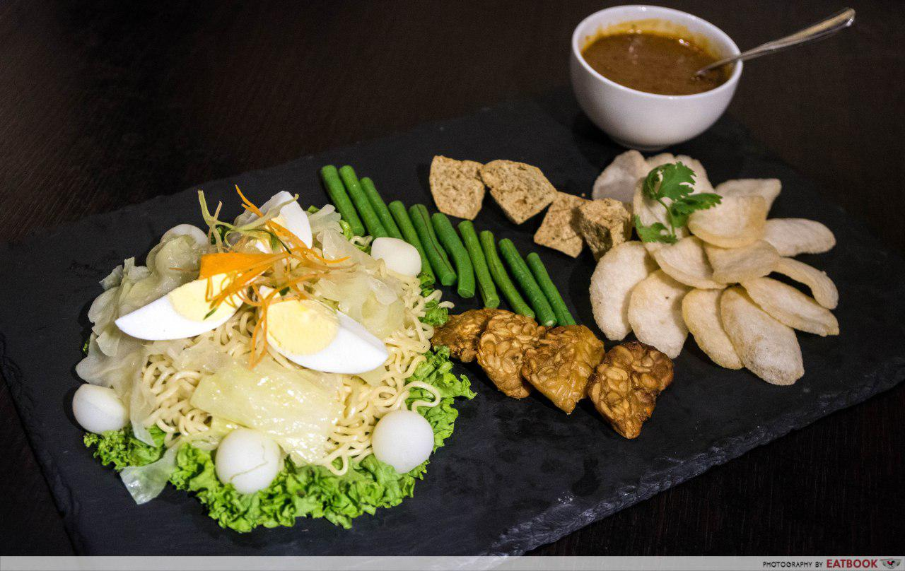 Rumah Rasa - Tossed Gado Gado With Cold Indomie